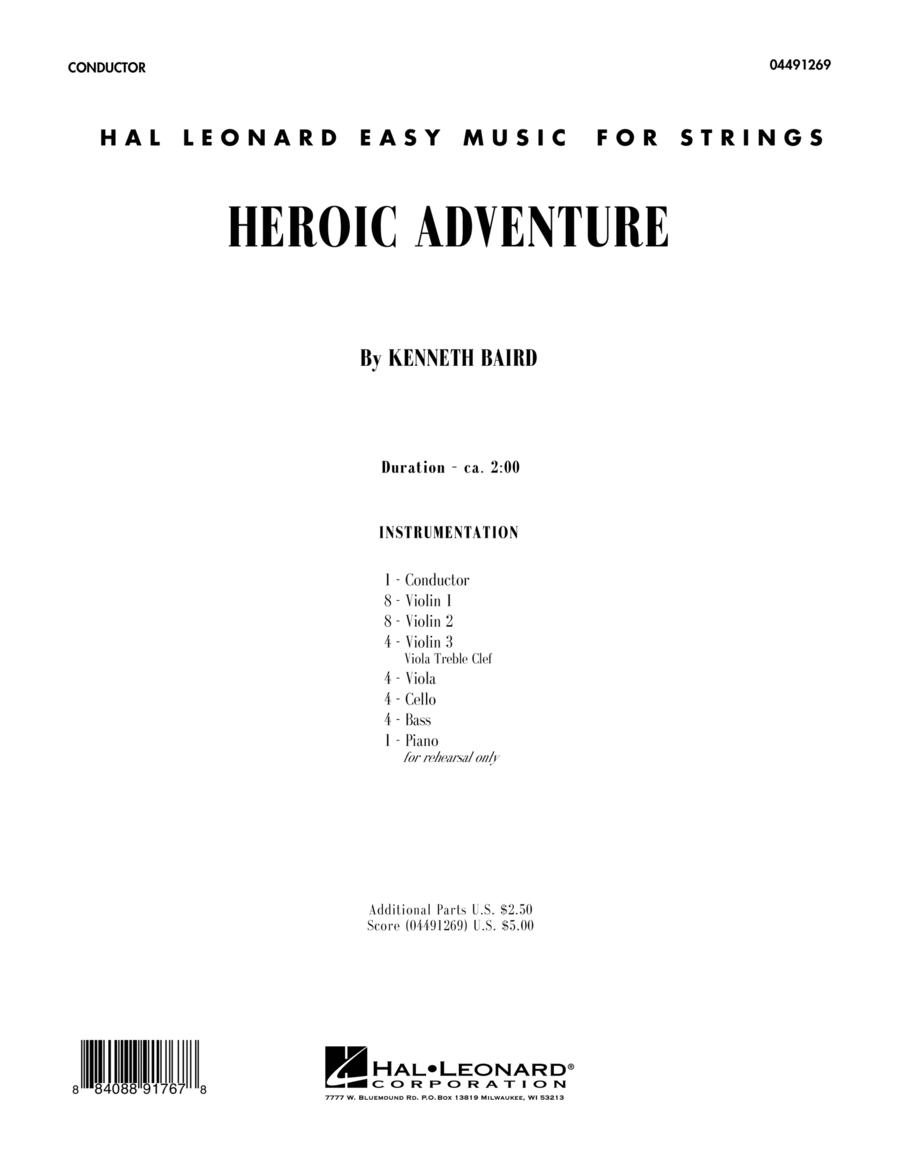 Heroic Adventure - Conductor Score (Full Score)