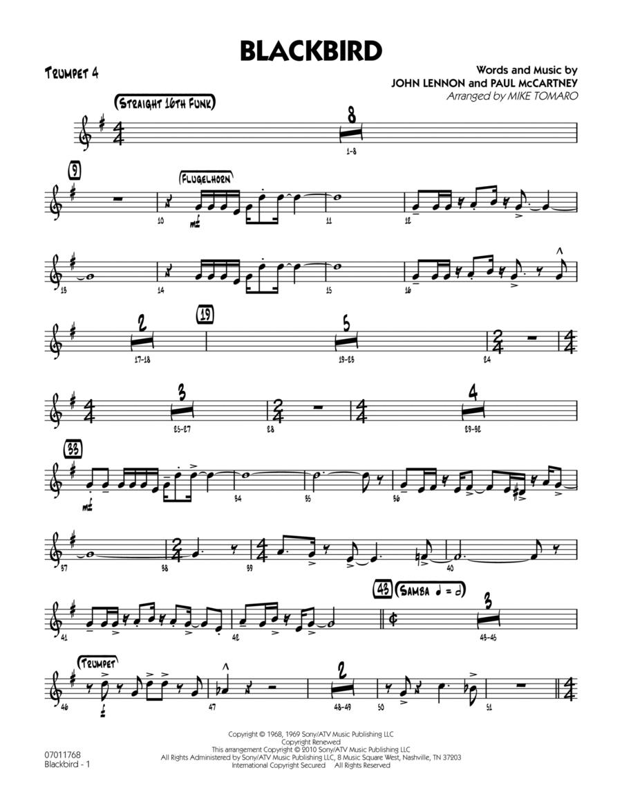 Blackbird - Trumpet 4
