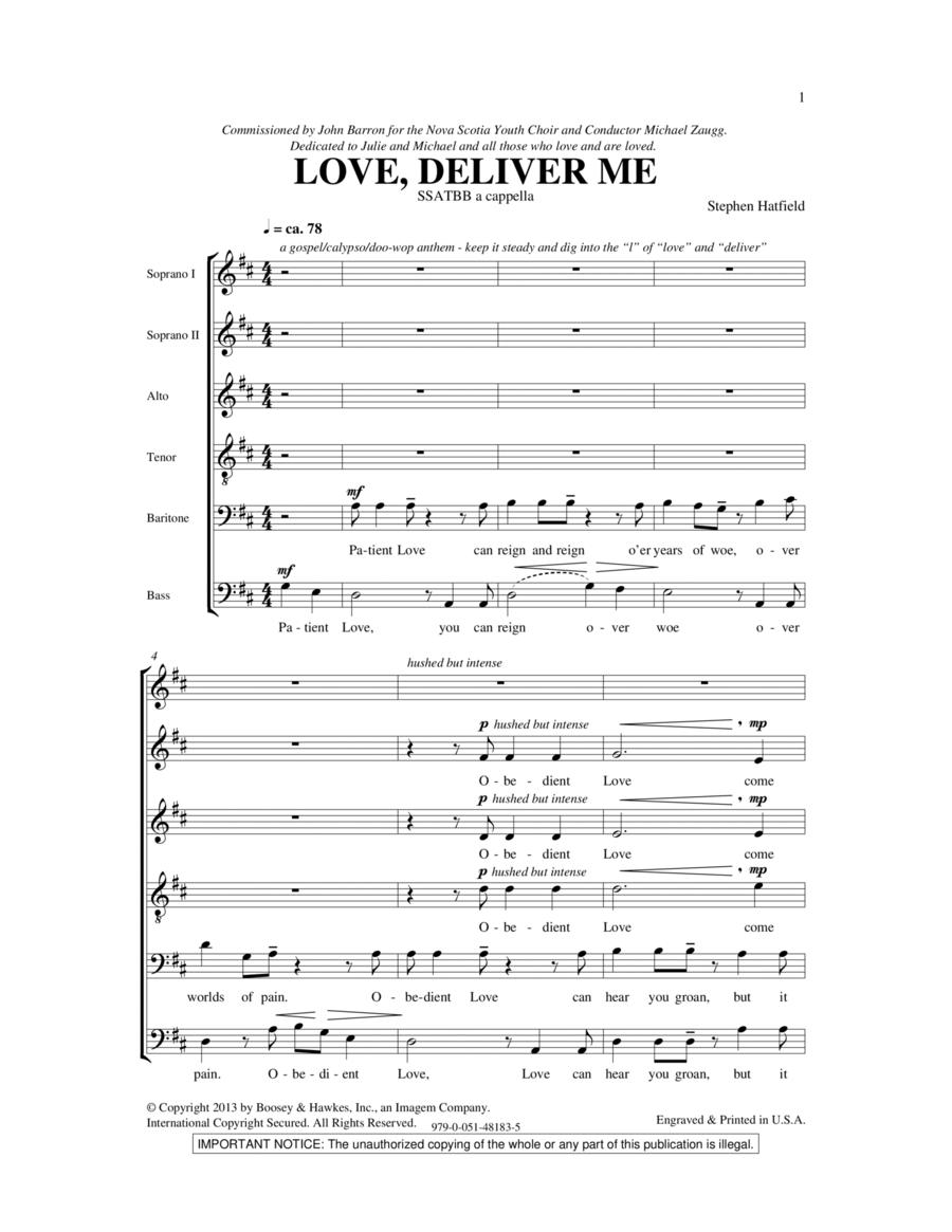 Love Deliver Me