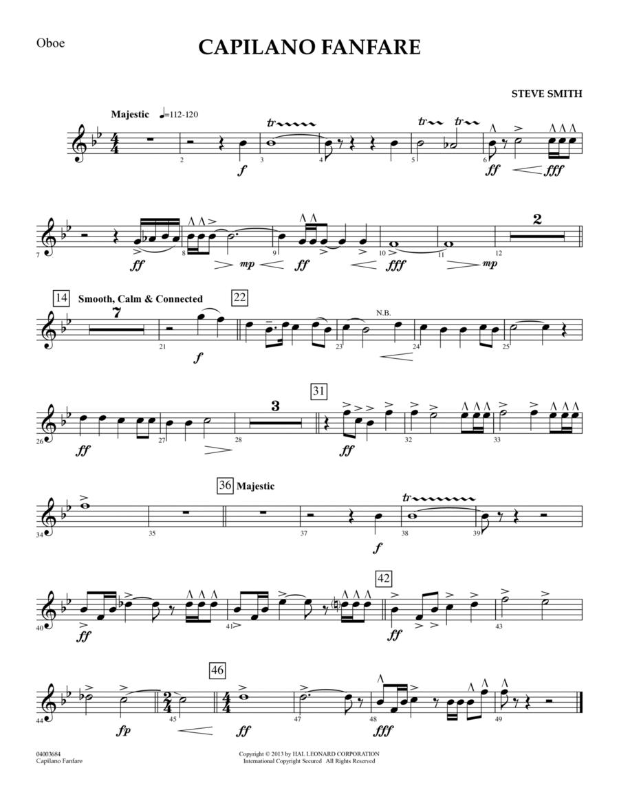 Capilano Fanfare (Digital Only) - Oboe