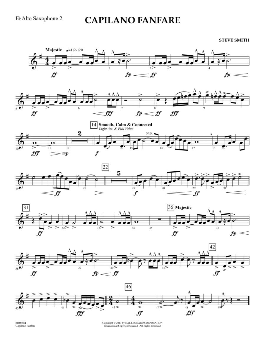 Capilano Fanfare (Digital Only) - Eb Alto Saxophone 2