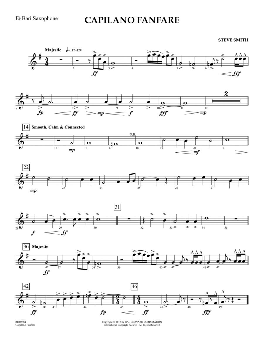 Capilano Fanfare (Digital Only) - Eb Baritone Saxophone