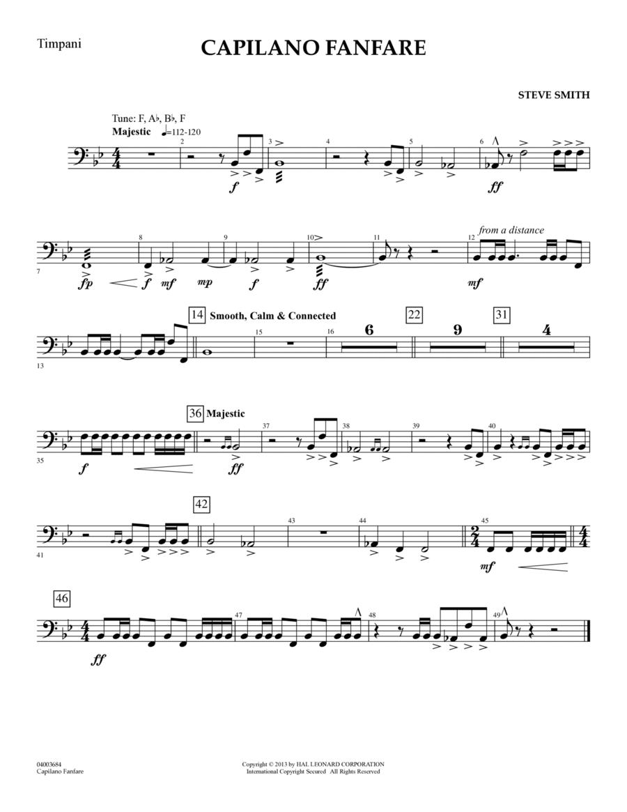 Capilano Fanfare (Digital Only) - Timpani