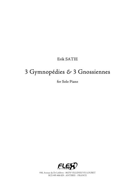 3 Gymnopedies & 3 Gnossiennes