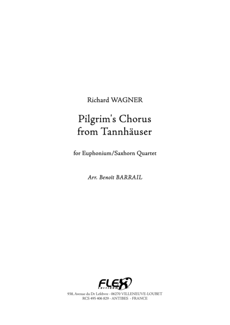 Pilgrim's Chorus from Tannhauser
