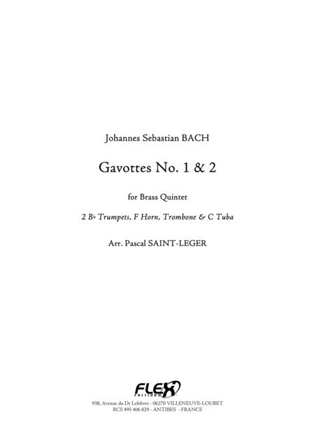 Gavotte 1 & 2 in D Major