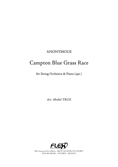 Campton Blue Grass Race
