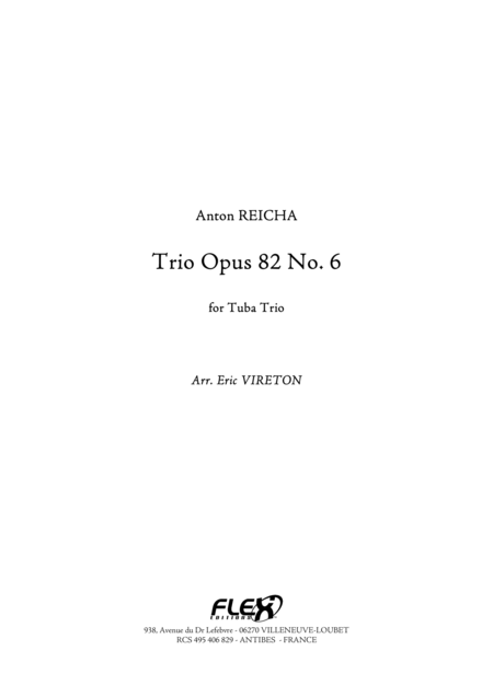 Trio Opus 82 No. 6