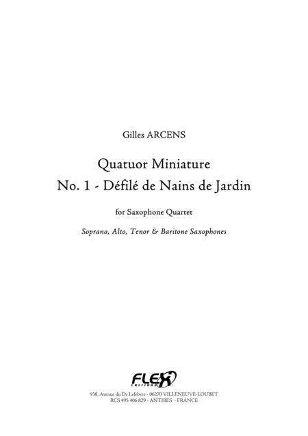 Quatuor Miniature, No. 1