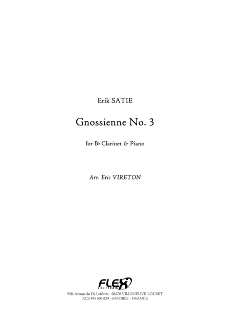 Gnossienne No. 3