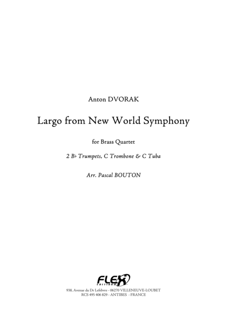 Largo from New Word Symphony
