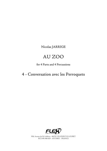 Au Zoo 4 - Conversation avec les Perroquets