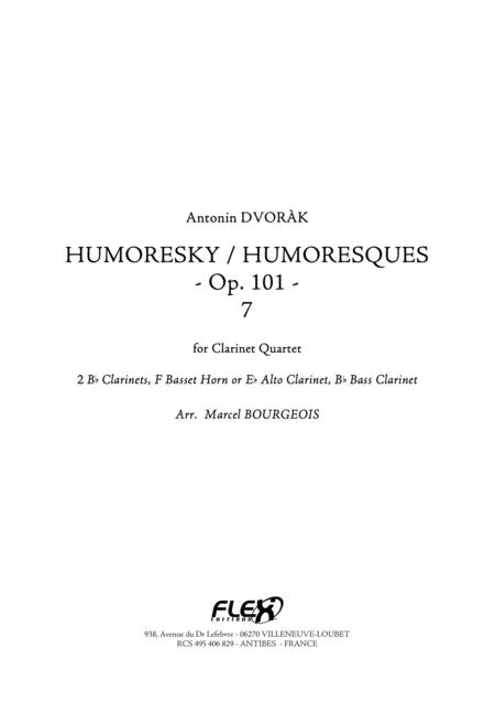 Humoresques, Op. 101, No. 7