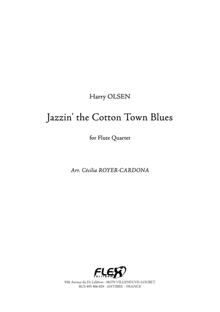 Jazzin' the Cotton Town Blues