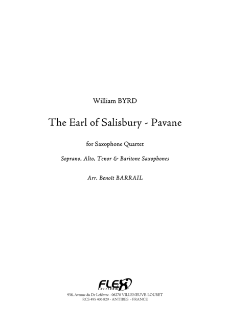 The Earl of Salisbury - Pavane