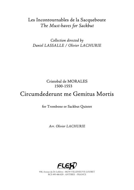 Circumdederunt me Gemitus Mortis
