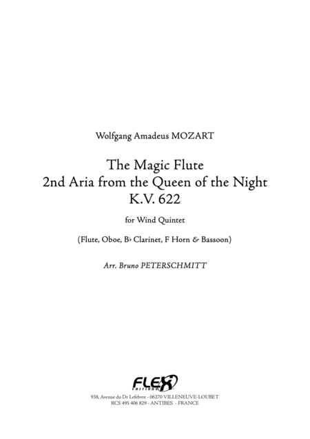 La Flute Enchantee - 2eme Air de la Reine de la Nuit