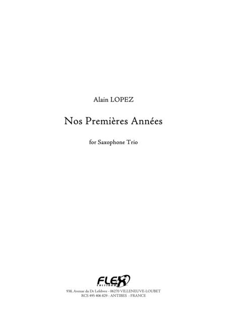 Nos Premieres Annees