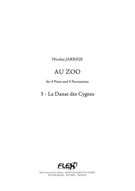 Au Zoo 3 - La Danse des Cygnes