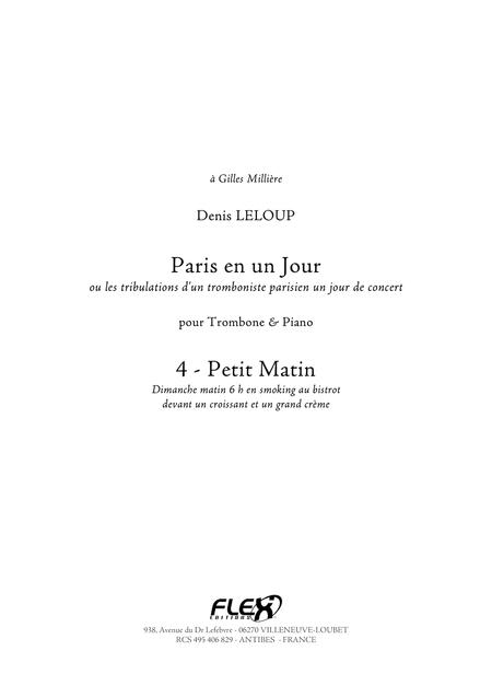 Paris en un Jour - 4 - Petit Matin