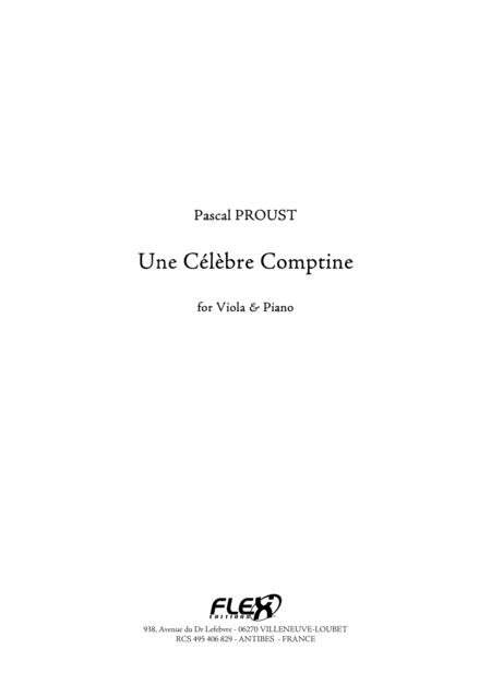 Celebre Comptine