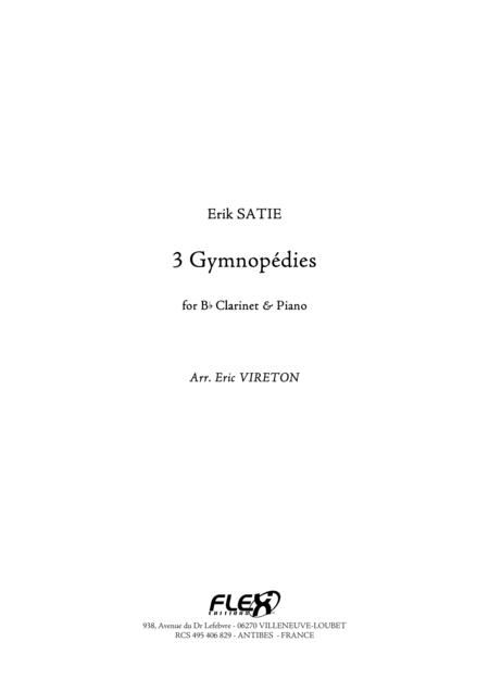 3 Gymnopedies