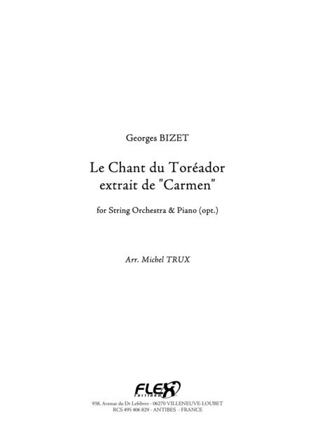 The Toreador Song from Carmen