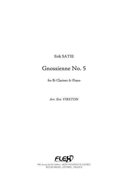 Gnossienne No. 5
