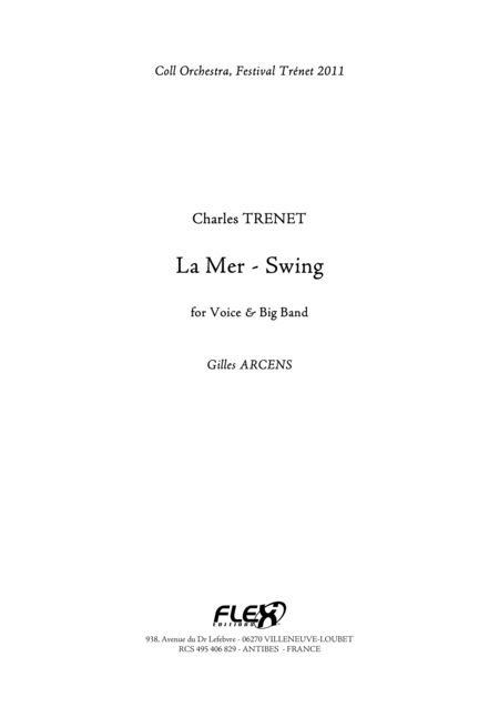 La Mer - The Sea - Swing