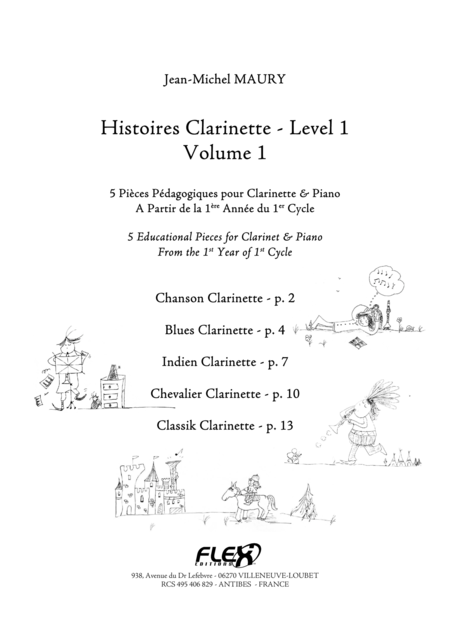 Histoires Clarinette