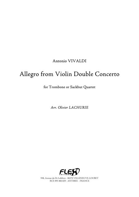 Allegro from Violin Double Concerto