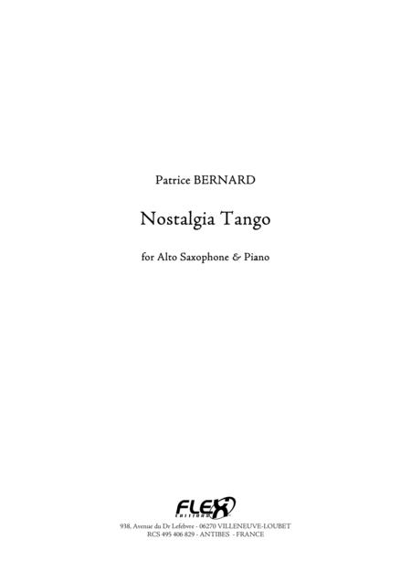 Nostalgia Tango