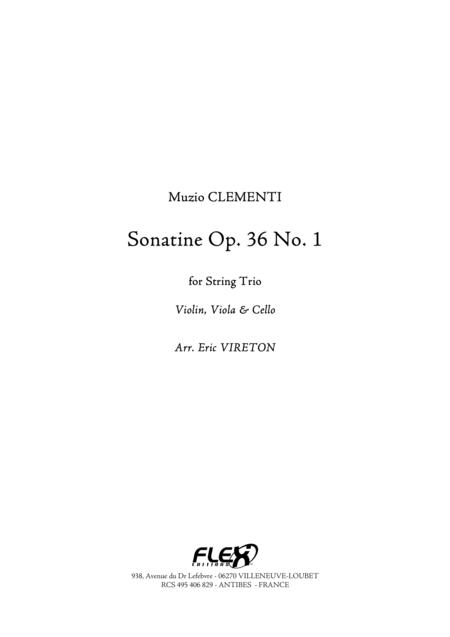 Sonatine Opus 36 No. 1