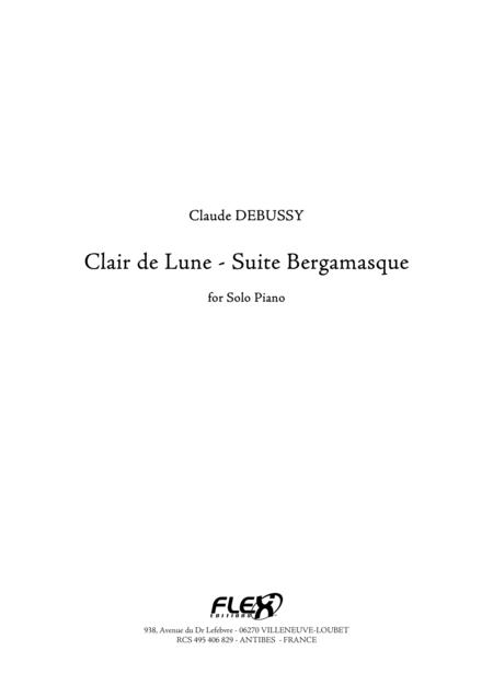Clair de Lune - Bergamasque Suite