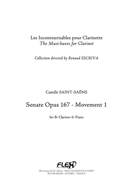 Sonata Opus 167 - Movement 1