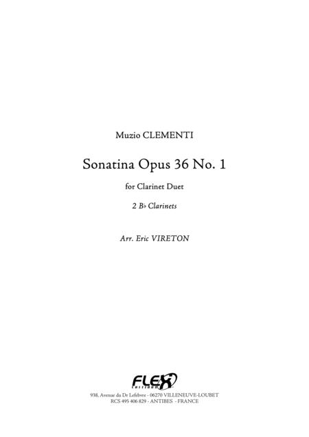 Sonatina Op 36, No. 1