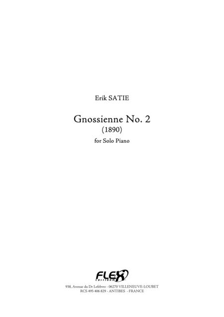 Gnossienne No. 2