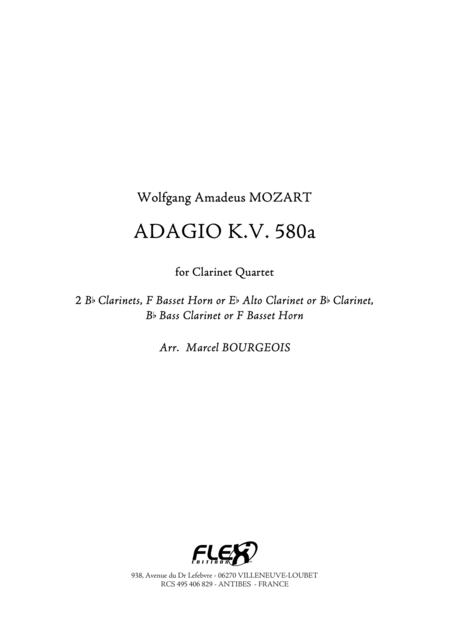 Adagio, KV. 580