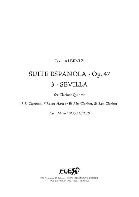 Suite Espanola, Op. 47, 3: Sevilla (Sevillanas)