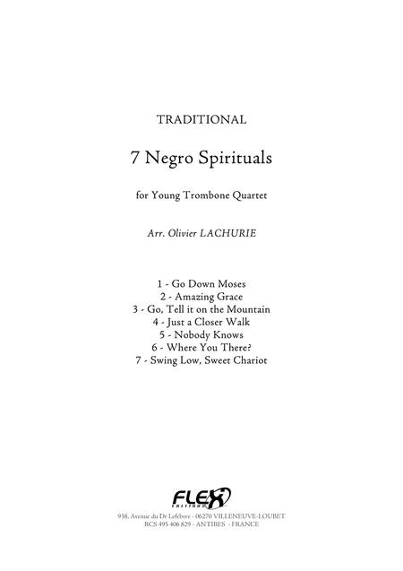 7 Negro Spirituals