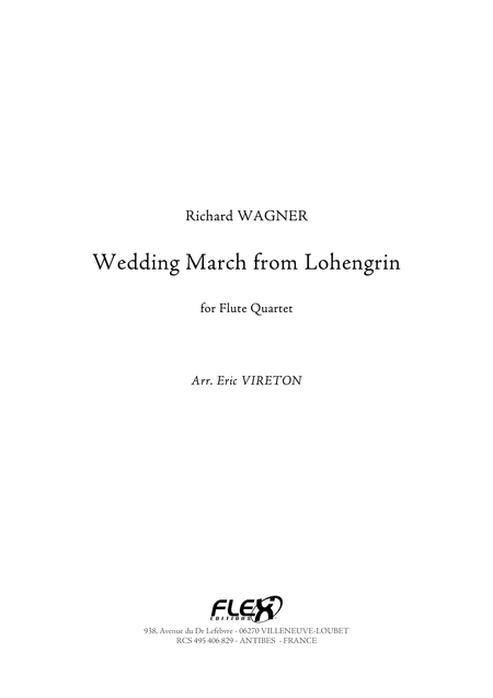 Wedding March from Lohengrin
