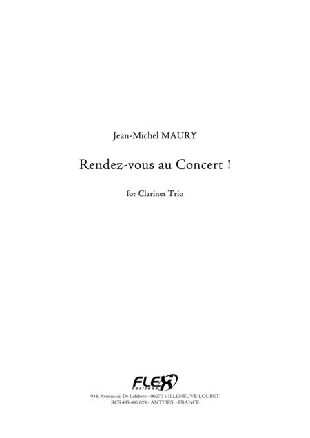 Rendez-vous au Concert !