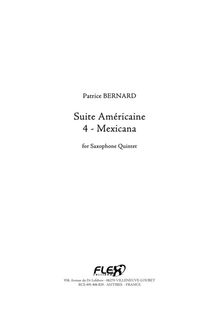 Suite Americaine - 4 - Mexicana