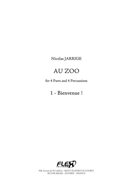 Au Zoo 1 - Bienvenue!