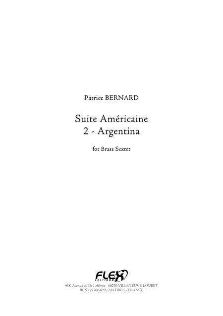 Suite Americaine - 2 - Argentina