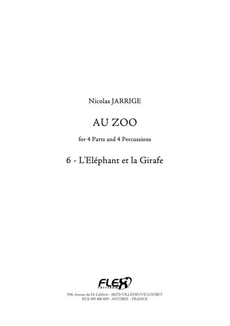 Au Zoo 6 - L'Elephant et la Girafe
