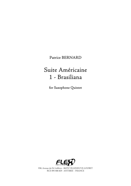 Suite Americaine - 1 - Brasiliana