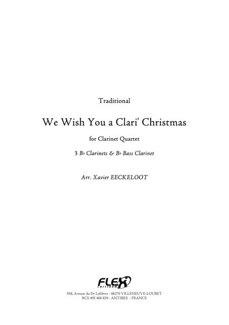 We Wish You a Clari' Christmas