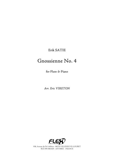 Gnossienne No. 4