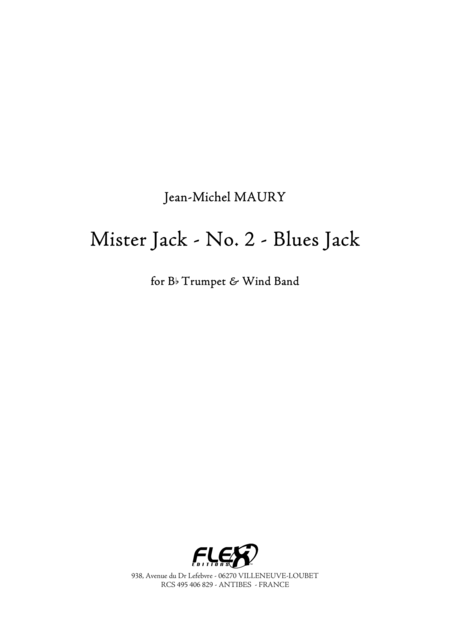 Mister Jack - No. 2 - Blues Jack